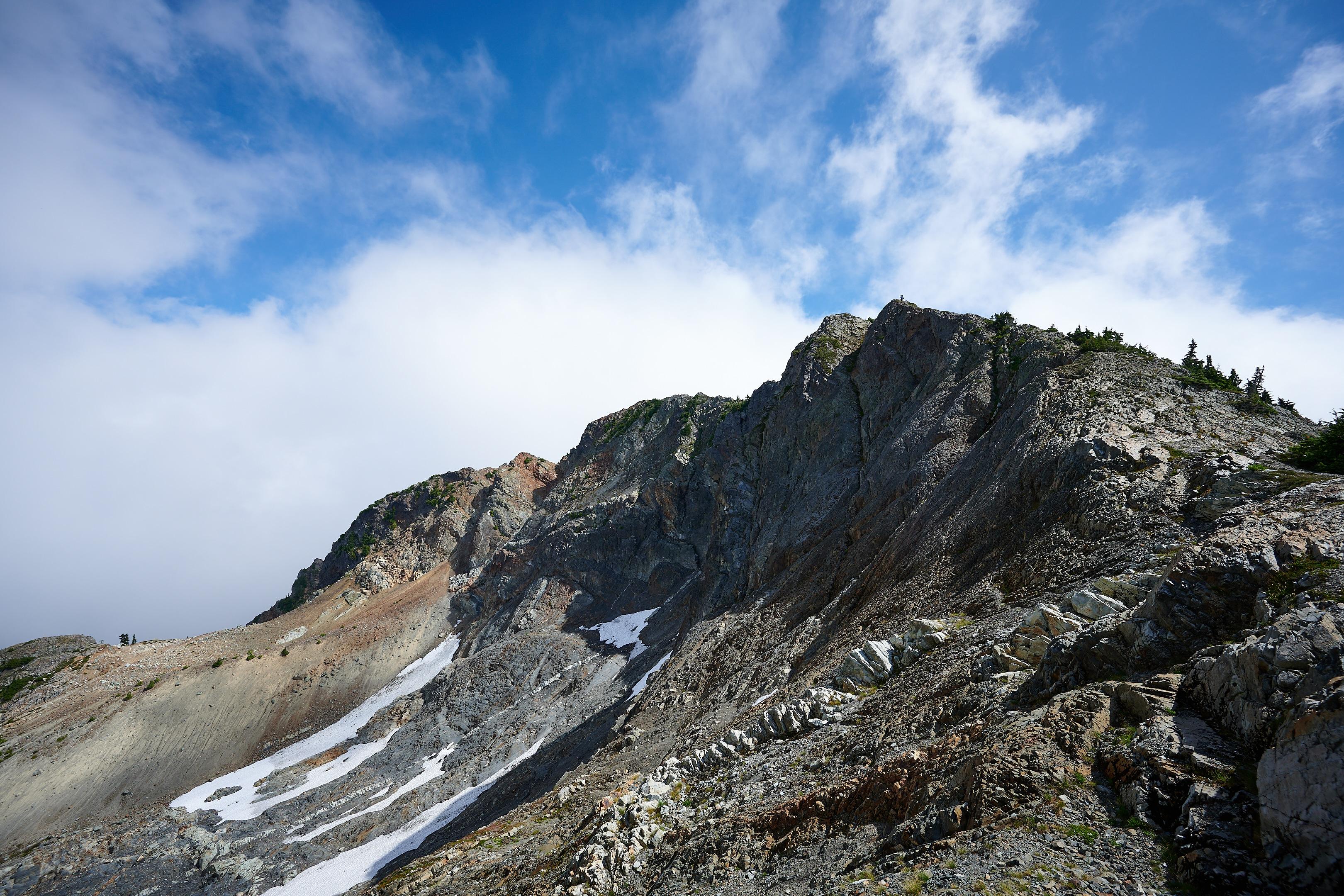 Hiking Brunswick Mountain 6