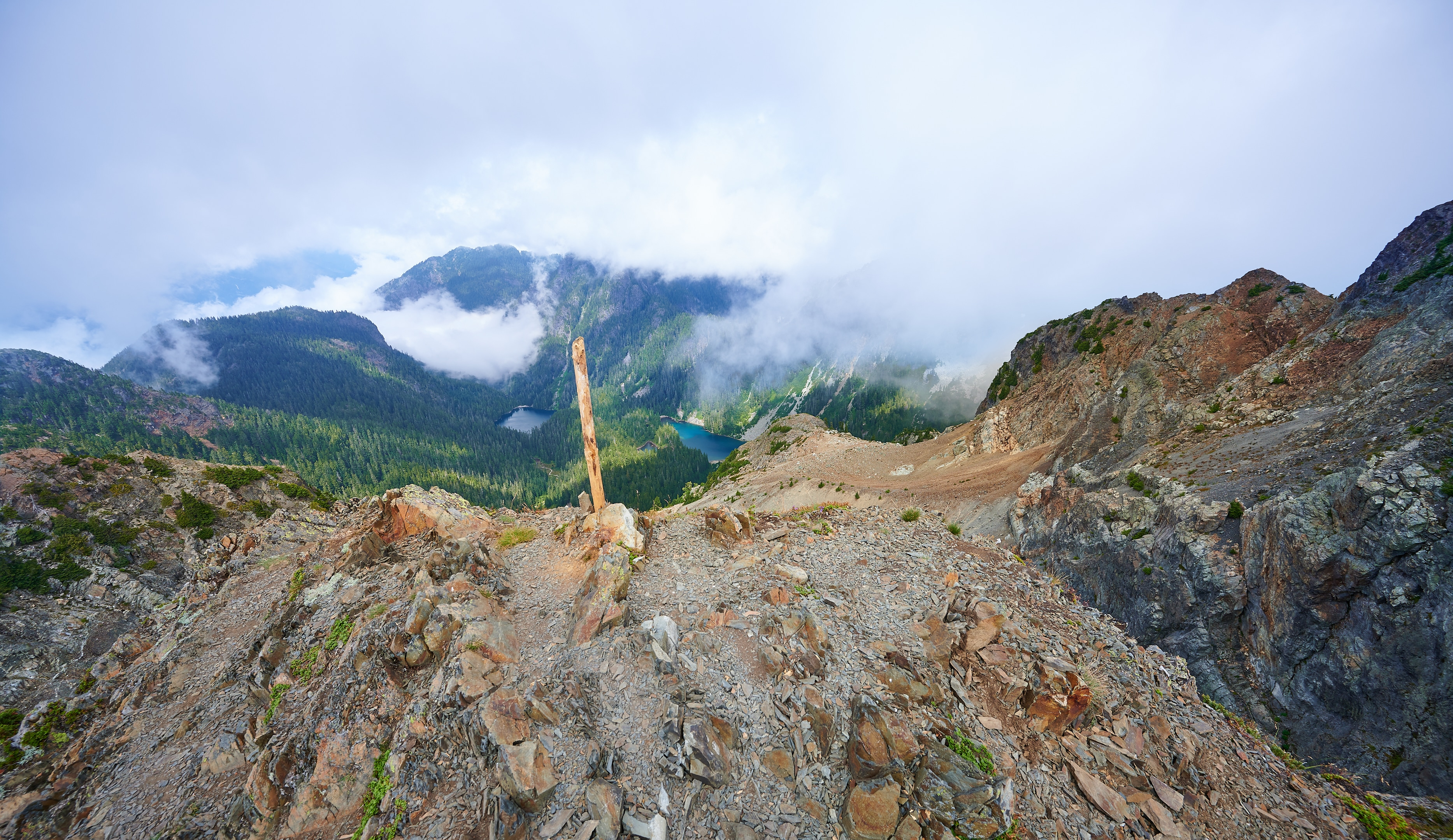 Hiking Brunswick Mountain 7