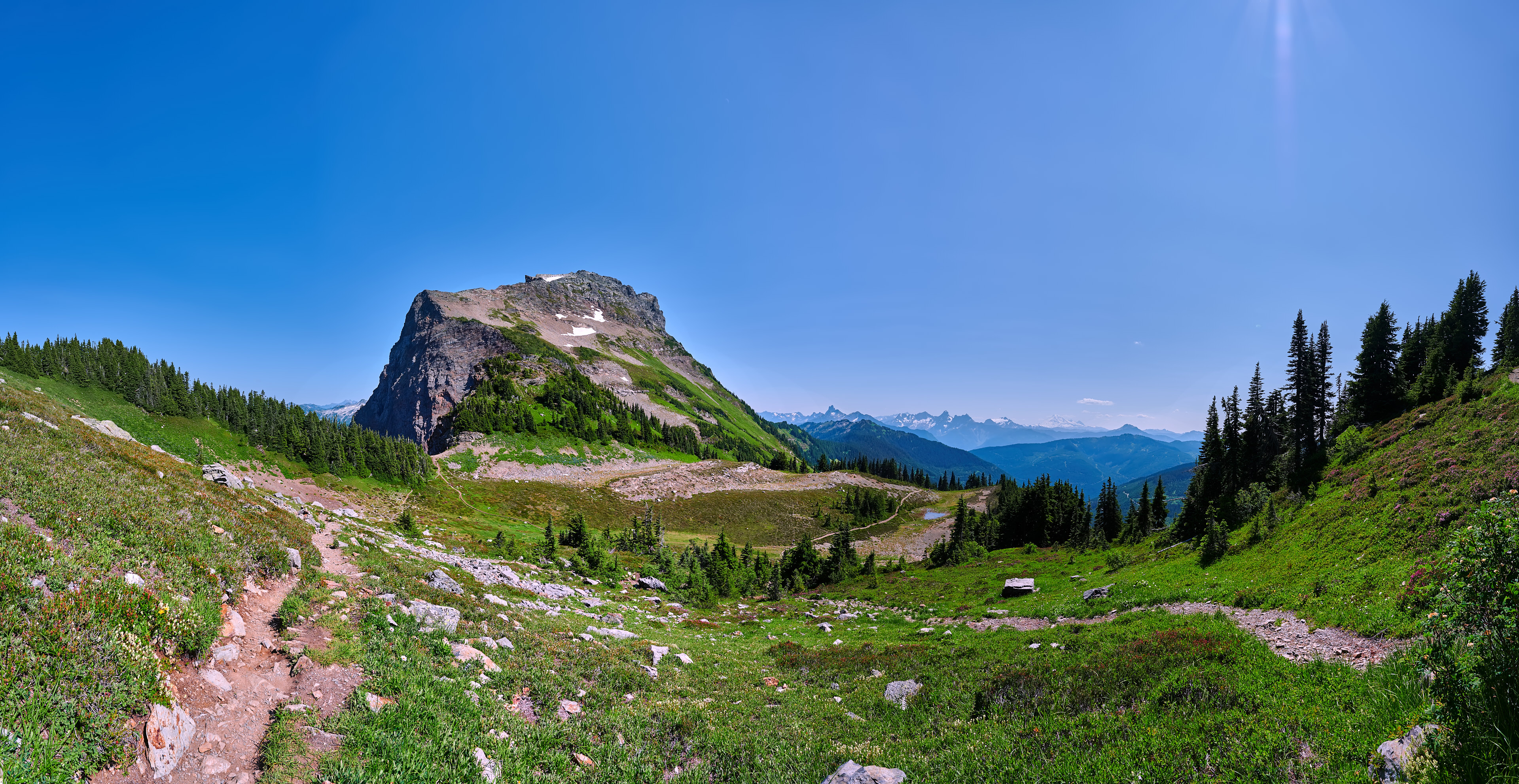 Cheam Peak Panorama Nikon Z7