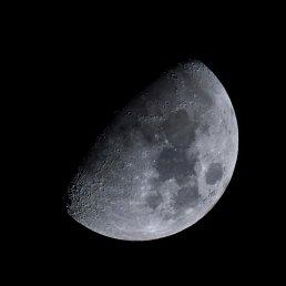 Moon Shot - Nikon Z7 and AF-S Nikkor 500mm f/5.6E PF ED VR